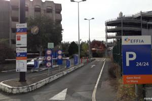 Le Mans - Parking gare sncf - EFFIA