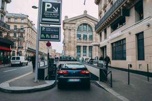 Paris -Parking  Gare du Nord - EFFIA