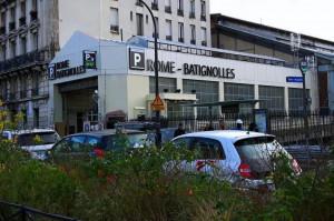 Paris - Parking Rome Batignolles - EFFIA