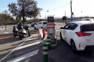 Aix en provence - Parking TGV - P5 deposeminute - EFFIA