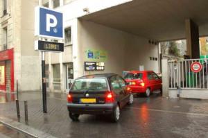 Parking mairie du 17eme