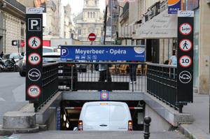 parking meyerber opera