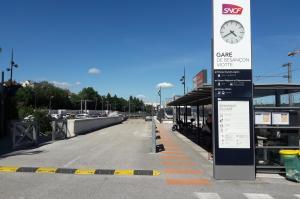 Parking de Besançon Viotte Nord