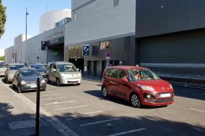 Parking du centre commercial Marseille Prado