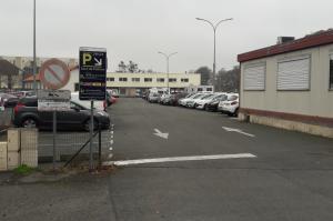 Parking EFFIA gare de Poitiers