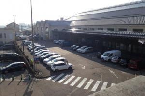 Parking gare de Lyon Perrache parvis SNCF - EFFIA