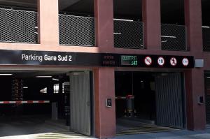 Parking Nantes gare sud 2 - entrées