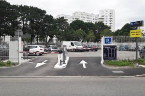 Parking de Lorient Gare Maritime P3 - EFFIA