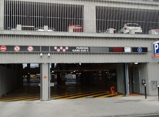 parking gare de nantes gare sud 3 jallais effia effia. Black Bedroom Furniture Sets. Home Design Ideas